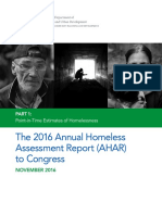 Annual Homeless Assessment Report