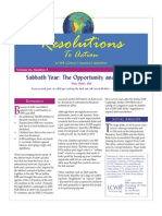 July 2007 Resolutions to Action Leadership Conference of Women Religious
