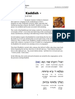 Kaddish Intro