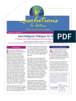 April 2007 Resolutions to Action Leadership Conference of Women Religious