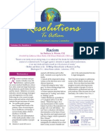 January 2006 Resolutions to Action Leadership Conference of Women Religious