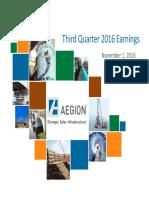 Q3 16 Earnings Slides 11-1-16 FINAL(1)