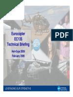 EC135 Tech Briefing Heli-Expo 0209