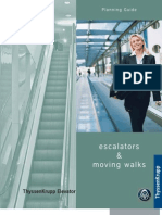 Escalators Design