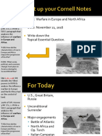 Day 5 - 2016 - Allied Powers - Europe and Africa - WWII
