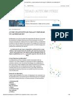 ELECTRICIDAD AUTOMOTRIZ_ ¿COMO DIAGNOSTICAR FALLAS Y REPARAR UN ALTERNADOR_.pdf