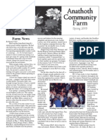 Spring 2005 Anathoth Community Farm Newsletter