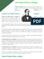 Felipe Pardo y Aliaga