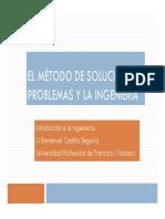 Solución de Problemas en La Ingeniería