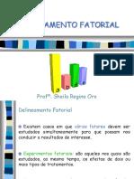 AULA 11 - Delineamento Fatorial
