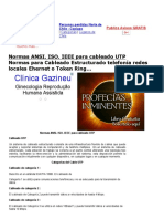 Normas ANSI. ISO y IEEE Cables UTP.pdf