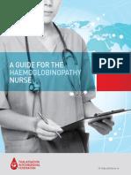 Guia de Enfermagem Hemoglobinopatico . De enfermeiros para enfermeiros .