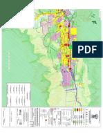 (j049pr15) Carta Urbana del Plan de Desarrollo Urbano del Municipio de Santiago, Nuevo León