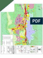 (j049pr14) Carta Urbana del Plan de Desarrollo Urbano del Municipio de Santiago, Nuevo León