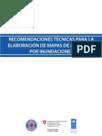 Recomendaciones técnicas para la elaboración de mapas de amenazas por inundaciones.pdf