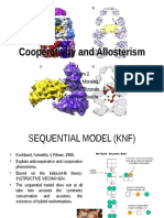 Cooperativity and allosterism