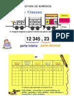 Leitura de Números classes e ordens