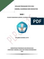 Bab 1 Filosofi Pendidikan Jasmani Olahraga Dan Kesehatan
