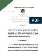 (30 Mar 09) Ejecutivos Entre Ips Corresponde Jurisdiccion Civil
