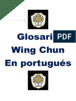 Glosario Wing Chun Fam Yip Man en Portugues