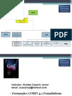 Trainning - Cobit Foundation v41 (Instrutor)