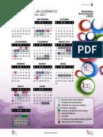 Calendario no escolariZada