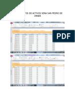 Base de Datos de Activos Sena San Pedro de Uraba