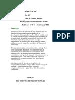 Decreto Legislativo No667