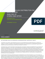 Navigant Nov. 24 report on Peterborough Distribution Inc. sale