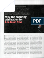 Why the Enduring Admiration for LKY