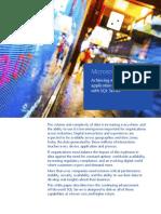 SQL Server Mission Critical Performance TDM White Paper