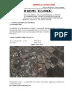 Informe Tecnico - Mantenimiento Chimbote