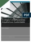 La Arquitectura y La Sustentabilidad