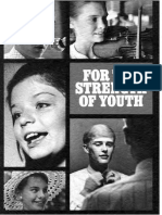 1972 For the Strength of Youth pamphlet