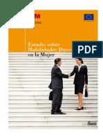 Estudio Sobre Habilidades Directivas en La Mujer España