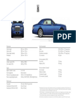 Rolls-Royce Phantom Coupe Technical Specification 2017