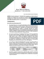 RES 1043-2016-JNE - Reglas de Las EM 2017 (3 Nuevos Distritos)