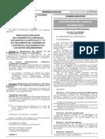 Decreto Supremo 043-2016-PCM - Convocatoria a Elecciones Municipales