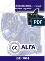 Alfa Catalogo de Reductores