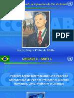 CPTM. Unidade 3.1a -Implementacao Do Mandato - Leis Internacionais Relevantes