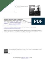 Stjepan G. Mestrovic and Hélène M. Brown -- Durkheim's Concept of Anomie as Dereglement