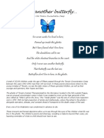 Poems - i Never Saw Another Butterfly