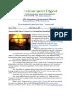 Pa Environment Digest Nov. 21, 2016