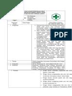 8.2.1.7 SOP Evaluasi Ketersediaan Obat Terhadap Formularium, Hasil Evaluasi Dan Tindak Lanjut