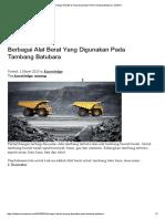 Berbagai Alat Berat Yang Digunakan Pada Tambang Batubara _ ZettaPro
