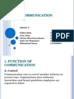Summary of Communication 2
