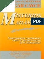 Cayce Edgar - Misterios De La Atlantida.pdf