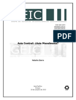 Asia Central Asia Musulmana