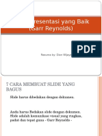 Presentasi Efektif Dengan Powerpoint