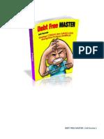 Debt Free Master